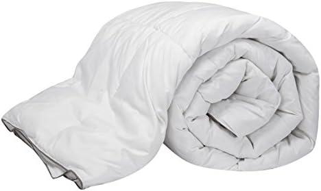 Pikolin Home - Edredón/Relleno nórdico natural de plumón de oca 96%, funda 100% algodón de percal, 220gr/m², 240x220cm-Cama 150/160 (Todas las medidas): Amazon.es: Hogar
