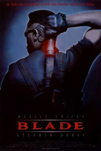 Amazon Com Pop Culture Graphics Blade Poster Movie German 11x17 Wesley Snipes Stephen Dorff Kris Kristofferson N Bushe Wright Prints Posters Prints