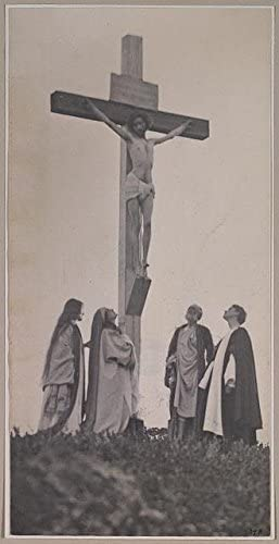 INFINITE PHOTOGRAPHS Photo: Crucifixion, Mary Magdalene, Joseph, St. John, Jesus Christ, Religion, 1898, Fred Day Size: