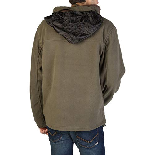 Tamazonie brown Men's kaki Vert Sweatshirts man Geographical Norway qRcAtnpwp4