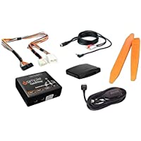 Bluetooth streaming audio music kit plus aux input cable and dash tools for select 2003+ Honda/Acura radios (Bundle: 3 items)
