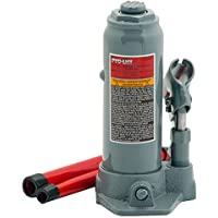 $21 » Pro-Lift B-004D Grey Hydraulic Bottle Jack - 4 Ton Capacity