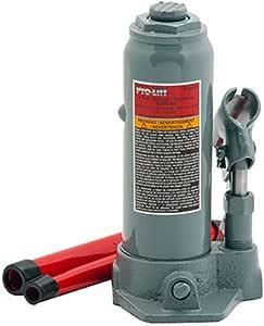 Pro-Lift Grey Hydraulic Bottle Jack