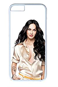 iPhone 6 Case - White Hard PC Designer Case for Your Apple Phone - Latest Stylish Megan Fox 2011 Design For iPhone 6 4.7inch