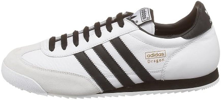 Amazon.com | adidas Originals Men's Dragon Leather Running Shoe ...