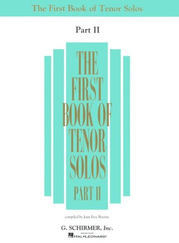 The First Book of Tenor Solos - Part II
