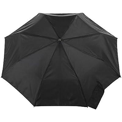 totes Titan Automatic Open Close Windproof & Water-Resistant Foldable Umbrella