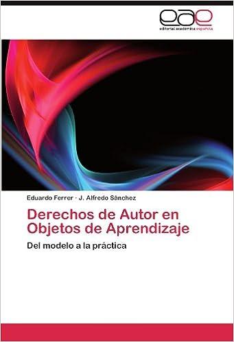 Ebook epub descargas Derechos de Autor en Objetos de Aprendizaje in Spanish PDF MOBI 3845481587