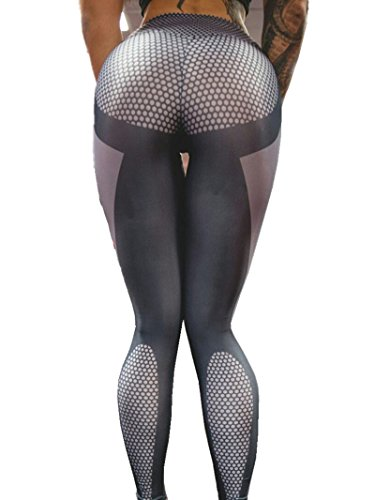 Sorrica Activewear Printed Athletic Leggings