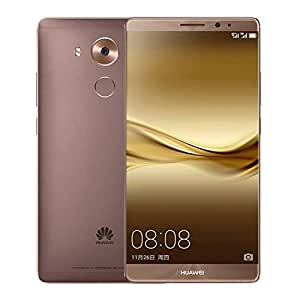Huawei mate8 with European Firmware installed 4GB RAM 128GB ROM Android 6.0 Octa Core Fingerprint 4G LTE Dual Sim Full Active 6.0 inch FHD 16MP Mocha Gold