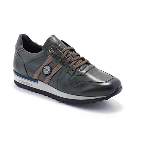 Sneaker Uomo Bassa Enna Verde 555 - Exton