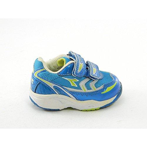 Diadora - Diadora Zapatos Deportivos Niño Azul Electron V. I. Azul