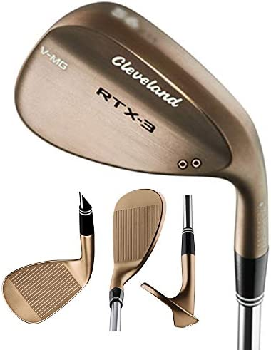 Cleveland Golf Men's RTX-3 VMG Mid Bounce Tour Wedge