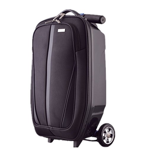 Laishutin Luggage Suitcase 20 Inch Scooters Trolley Case Men And Women Luggage Multifunctional Suitcase For Travel…