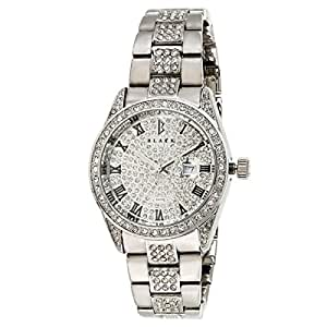 Black Royale Unisex Silver Dial Brass Band Watch - BR2013GS
