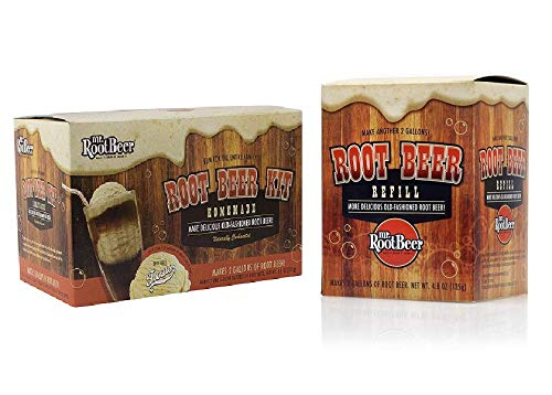 Brewing Root Beer - Mr. Root Beer 20041 Home Root-Beer-Making Kit +FREE Refill Kit Value PACK!!!