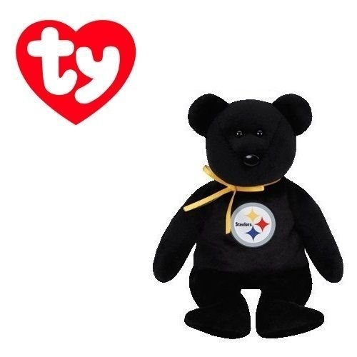 (Pittsburgh Steelers NFL Beanie Baby - Teddy Bear by TY (41715) by Ty )