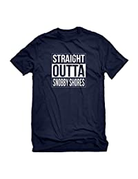 Indica Plateau Straight Outta Snobby Shores Mens T-Shirt