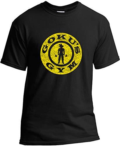 Goku's Gym T-Shirt Dragon Saiyan Vegeta Super Distressed Black XL (Goku And Vegeta Best Friends Shirt)