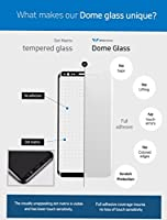 Galaxy S8 Plus Screen Protector Tempered Glass and Adhesive Replacement Kit, Whitestone 3D Curved [Full Coverage] Dome Glass for Samsung Galaxy S8 Plus (2017) - Replacement Set (No Install Kit) from Dome Glass
