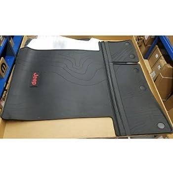 Amazon Com Jeep 82215185ac 2018 Wrangler Cargo Mat
