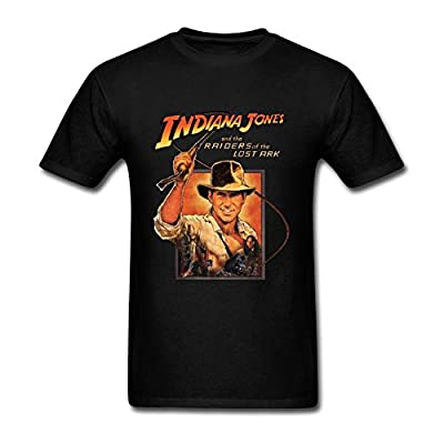 JuDian Indiana Jones Raiders Of Lost Ark T Shirt For Men