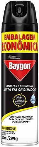 Inseticida Baygon Mata Baratas e Formigas 360ml