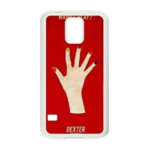 Dexter Blood Samsung Galaxy S5 Cell Phone Case White Exquisite designs Phone Case TF74424H
