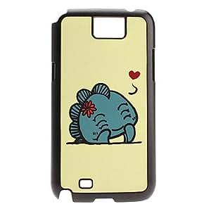 Cartoon Dinosaur Pattern Hard Case for Samsung Galaxy Note2 N7100