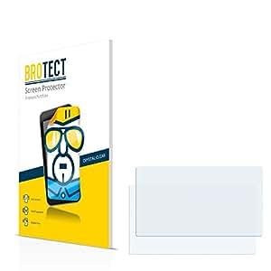 2x BROTECT HD-Clear Protector Pantalla Opel CD 70 Navi Película Protectora – Transparente, Anti-Huellas