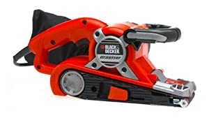 Black & Decker DS321 Dragster 7 Amp 3-Inch by 21-Inch Belt Sander with Cloth Dust Bag by Black & Decker