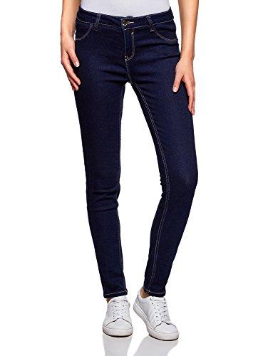 Skinny Femme Jean Bleu Basique 7900w Ultra oodji q7P4Hcv7