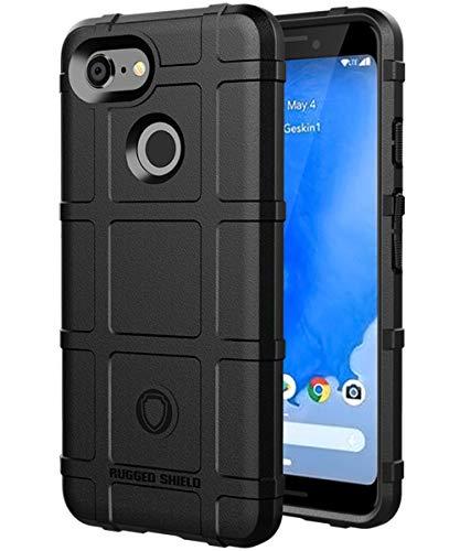 SSSCase Google Pixel 3 Case,Google Pixel3 Case,Slim Fit Pixel 3 Case,Matte Soft TPU Shockproof Anti-Slip Anti Scratches Anti-Fingerprint Protective Cover Case for Google Pixel 3 Black