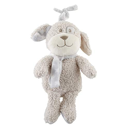 - Creative Brands Puppy Musical Soft Brown 6 inch Plush Polyester Fabric Stuffed Animal Toy
