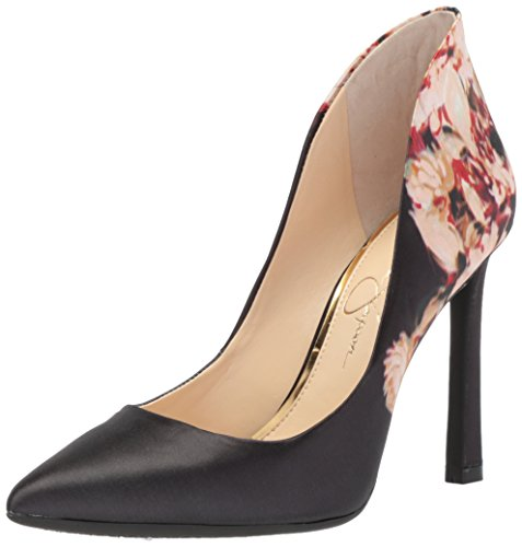 Jessica Simpson WoMen Parma Pump, Multi, Medium Dark Multi