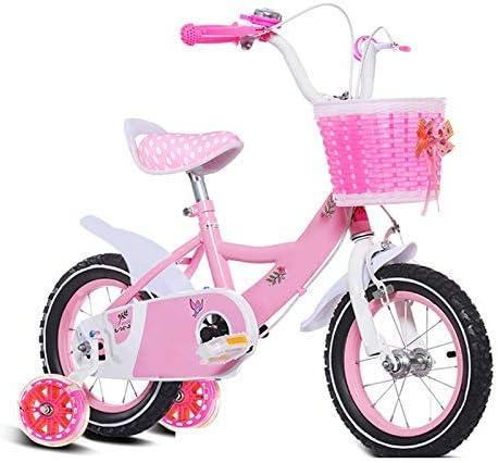 YSA 子供用自転車子供用自転車12/14/16/18/20インチの男の子と女の子のサイクリング、2〜11歳の子供に適したピンクパープル