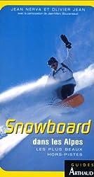 Le snowboard dans les Alpes
