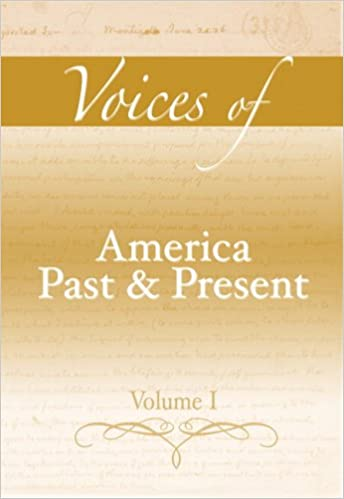 Amazon voices of america past and present volume i voices of america past and present volume i 1st edition fandeluxe Gallery