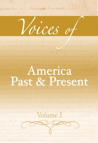 america past and present volume i - 3
