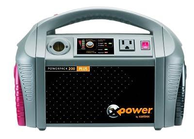 Xantrex 852-0200 XPower Powerpack 200 Plus Portable Backup Power Source