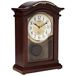 Seiko QXW431BLH Japanese Quartz Shelf Clock