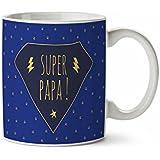 MUG tasse en ceramique cafe - MADE in France - Livraison EXPRESS - PROMO - SUPER PAPA
