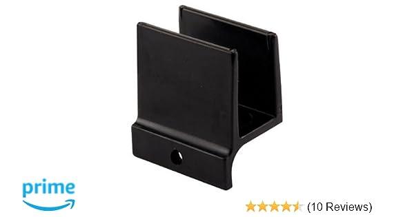 Prime-Line Products 194340 Shower Door Bottom Guide Black