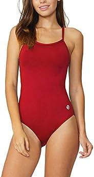 BALEAF Women's Athletic Training Adjustable Strap One Piece Swimsuit Swimwear Bathing