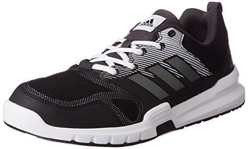 adidas Essential Star 3 M - Zapatillas de deporte para Hombre, Negro - (NEGBAS/PLAMET/NEGUTI) 41 1/3