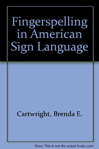 Fingerspelling In American Sign Language