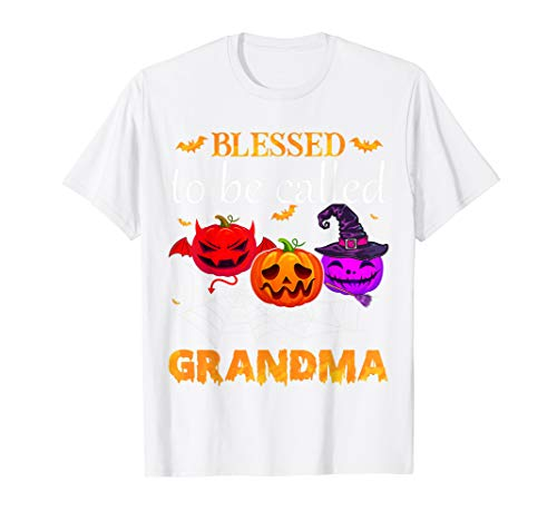 Blessed To Be Called Grandma Pumpkin Halloween Costume Gifts ()