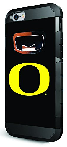 NCAA Oregon Ducks Bottle Opener iPhone 6/6S Case, One Size, Team ()