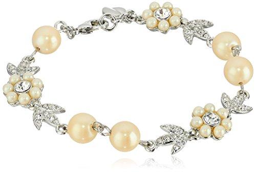 Carolee Floral Flex Bracelet - Carolee Floral Bracelet
