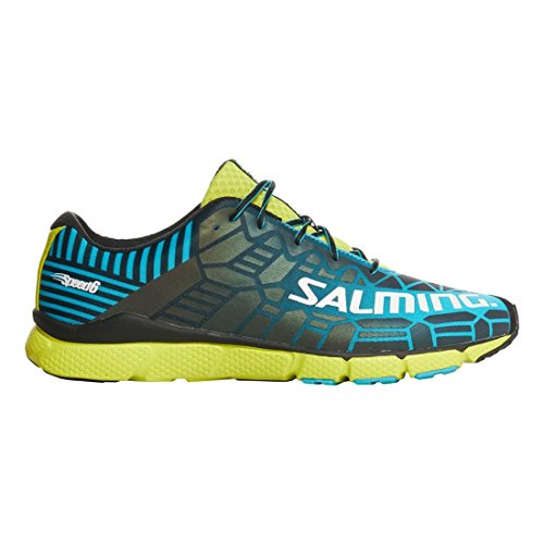 2971446bcdfc Salming Speed 6 Men s Shoes Shoes Shoes Blue Lime Parent B079Y1D4LX ...